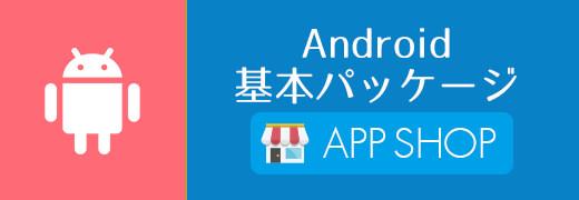 Android 基本パッケージ価格